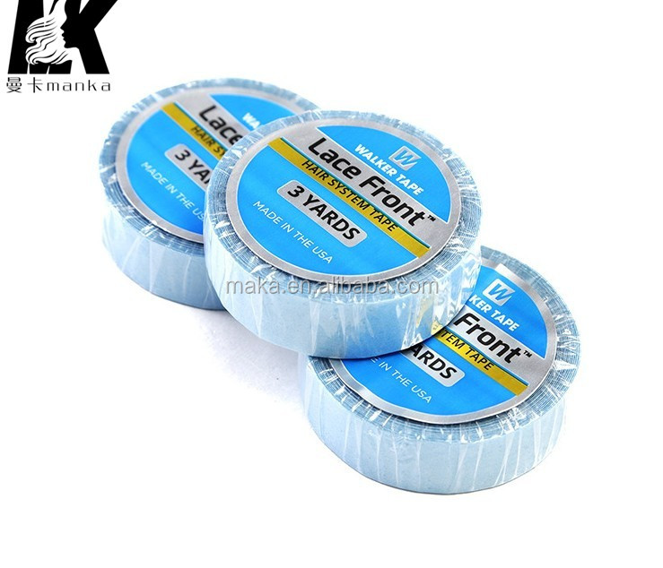 Walker tape 1/2''x3yards Liner Side To Base Strong Adhesives Glue For Tape Hair Extension Lace Front Hair Tape