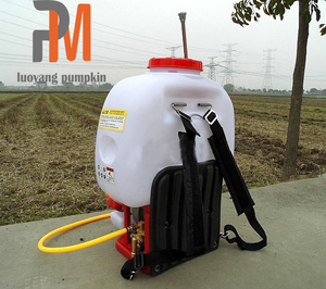 Power sprayer agriculture piston pump machine high pressure gasoline 4 stroke engine knapsack sprayer