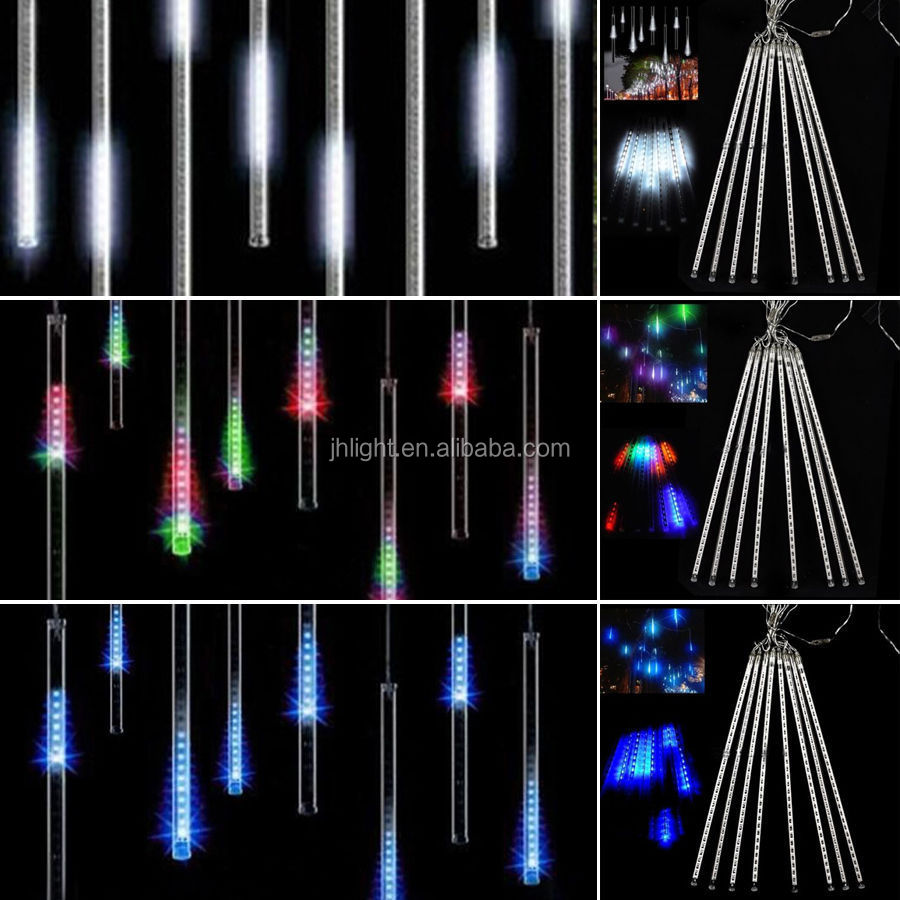 Rain Drop Christmas Lights,Meteor Shower Falling Star/rain Drop ...