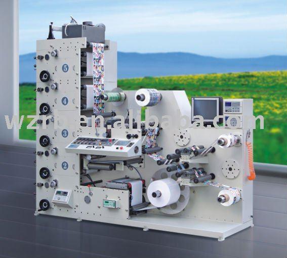 Ry-320-5c 4-6color Automatic Flexo Label Printing Machine