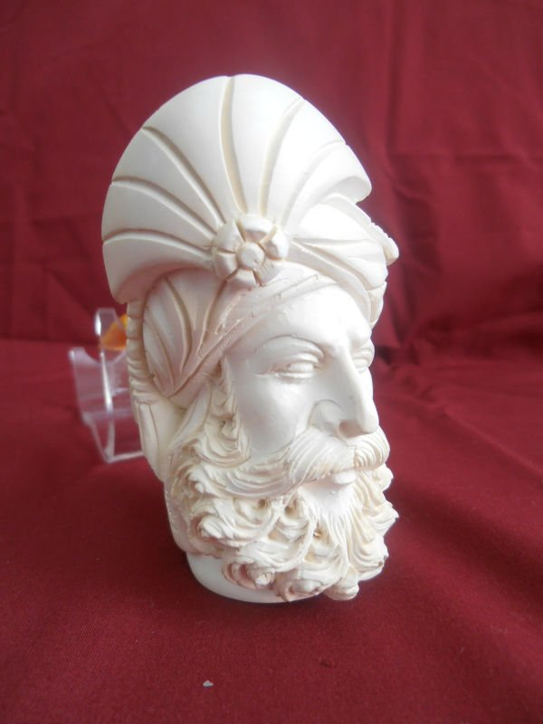 hand made meerschaum model of the sultan pipe
