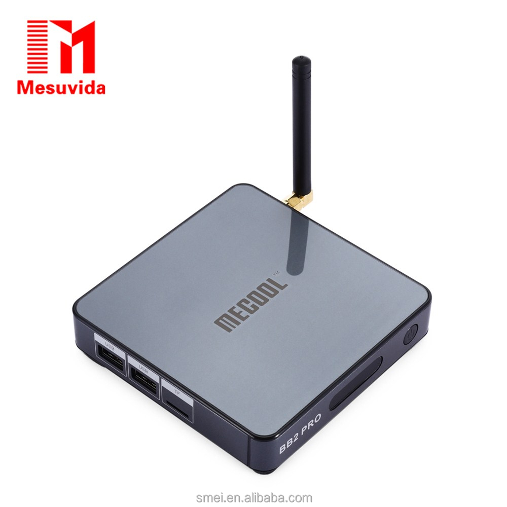 MECOOL BB2 PRO Android 6.0 Octa Core Smart <strong>TV</strong> <strong>Box</strong> <strong>Amlogic</strong> S912 Support for KODI 17.0 Bluetooth 4.0 Streaming Media Player(US )