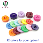 Buttons Garment Buttons Wholesales And Retail Fashion Colorful 4 Holes Resin Plastic Buttons For DIY Garment Accessories