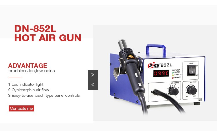 Daina DN-852L Wholesale Newest Hot Air Gun Automatic BGA SMD Rework Station
