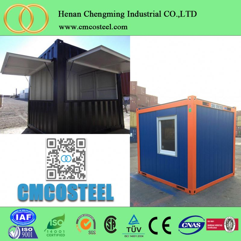 china professioneller hersteller fertig versand fracht 1 schlafzimmer 40ft mobile office container huser indien chennai china - Fertig Versand Container Huser Usa