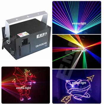1 5w 1500mw Rgb Laser Show System 30k 40k Scanner Thin