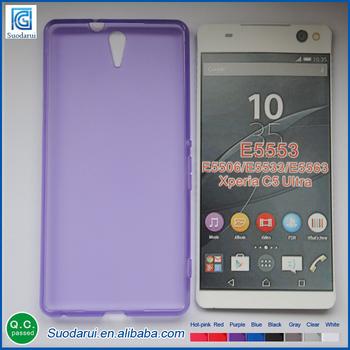 Cas De Gel Transparent Pour Sony Xperia Ultra C5 FEU3HisqJg