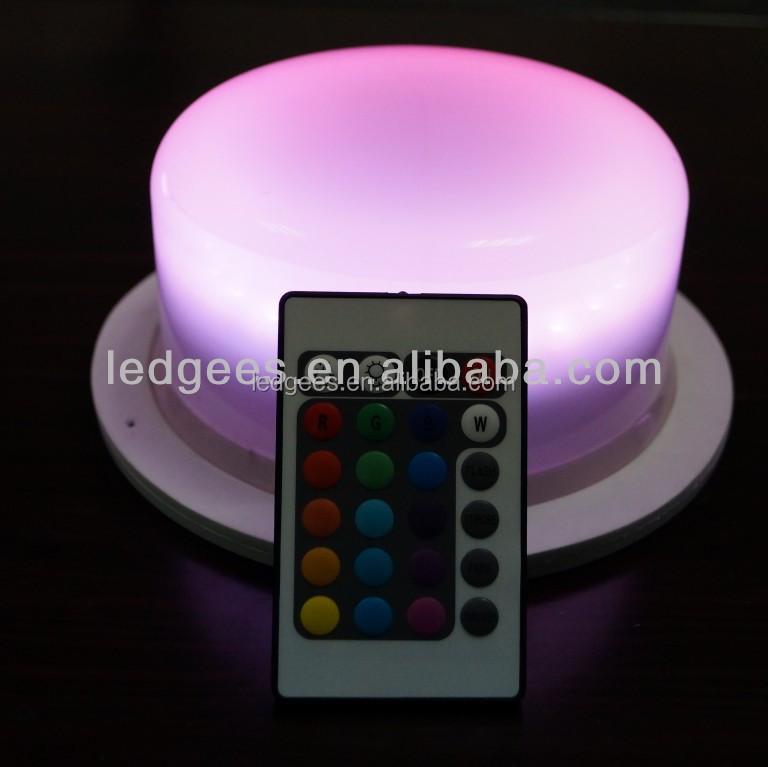 coolqing f hrte m bel fernbedienung rgb wiederaufladbare fernbedienung led batterie topf licht. Black Bedroom Furniture Sets. Home Design Ideas
