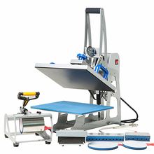 8 in 1 Combo T-Shirt Sublimatie 8in1 Warmte Persmachine