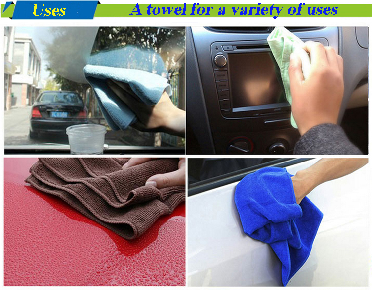 Cleaning Microfiber car wash towels