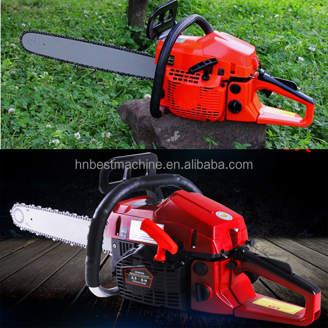 "65cc Chainsaw Gas Chainsaw Gasoline Chainsaw 365 Model with 22"" Guide Bar"