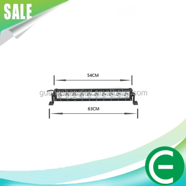 25Inch 100W Led Light Bar spotlights for car offroad Bar Offroad 4WD