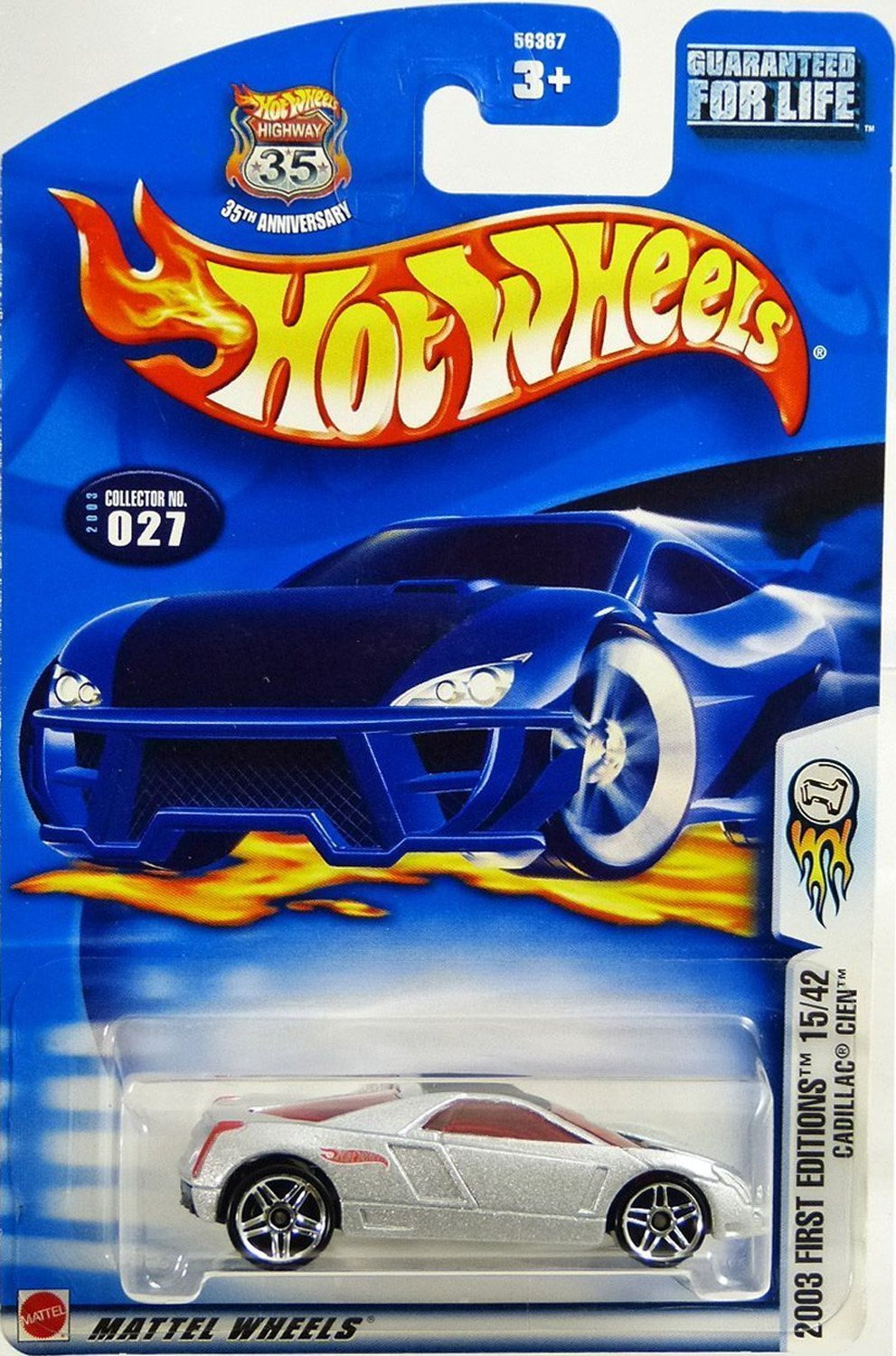 Hot Wheels Meyers Manx #051 2003 First Editions Purple