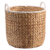 Wholesale dirty clothes water hyacinth hamper basket with handle