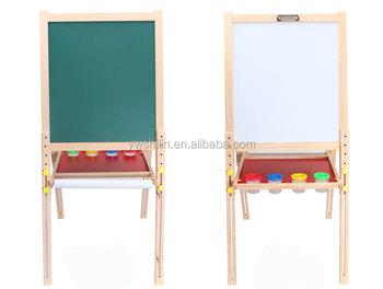 Keuken Kinderen Houten : Hete verkoop vouwen houten tekentafel speelgoed magnetisch