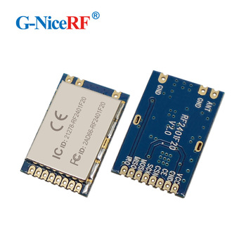 G-NiceRF RF2401F20 2.4G High Integrated RF Module With Nordic's RF Chip nRF24L01 2.4ghz wireless transceiver module