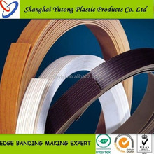 Furniture Fittings 2*22mm Rubber Edge Band, Pvc Edge Band with High Quality