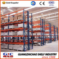 Adjustable Steel Shelves and Racks for Warehouse Cargo Storage