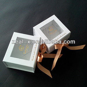 Wholesale Clear Window PVC Gift Packing Boxes For Soap Packing