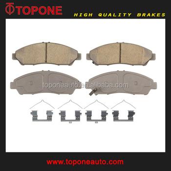 D1378 WVA25608 Ceramic Disc Brake Pad For Honda Pilot OE:45022 SZA A00