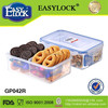 EASYLOCK chinese food container plastic divided box