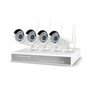Security Full HD 960P/1.3MP 4CH CCTV System Wireless NVR 4pcs Waterproof IP WiFi Camera Security Kit