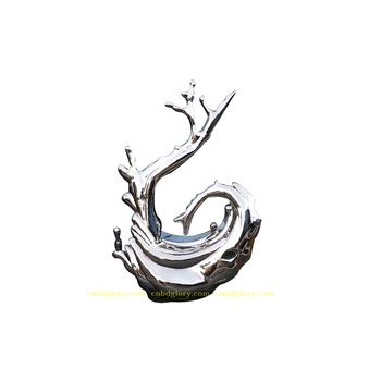 Customized Garden Home Decor Stainless Steel Abstract Sculpture