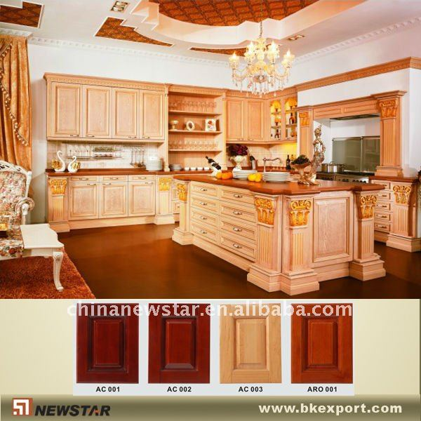 Solid Wood Pantry Cabinet For Kitchen - Buy Solid Wood Pantry  Cabinet,Cherry Wood Kitchen Cabinets,Kitchen Cupboard Product on Alibaba.com