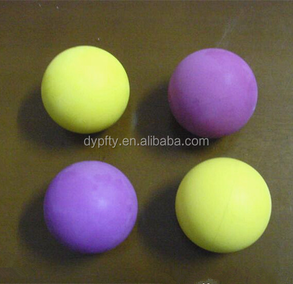 promotioanal 60mm hollow bounce rubber balls
