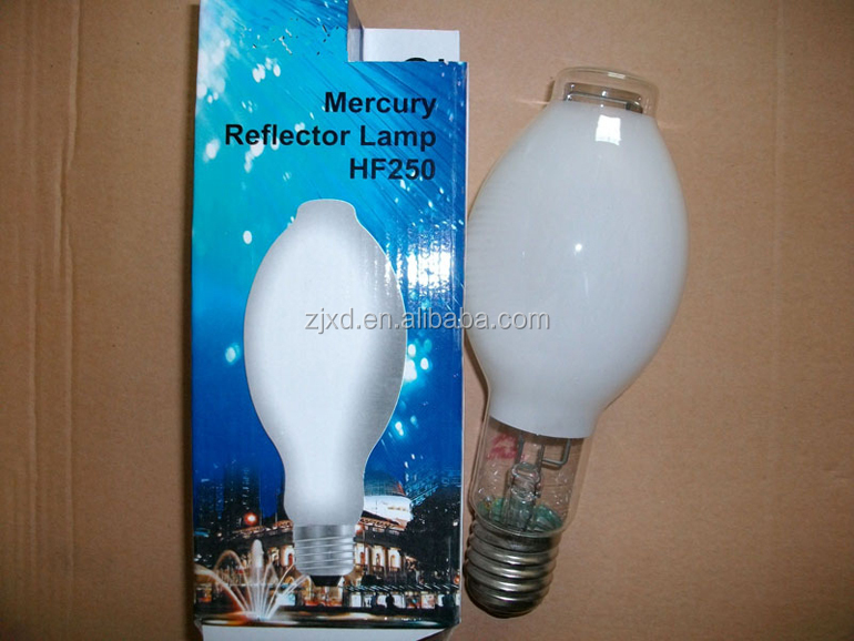 high pressure mercury vapour lamps(HF)70W-1000W