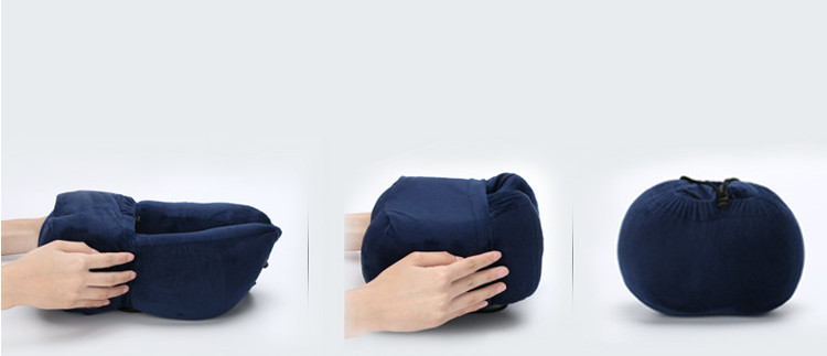 New style folding memory foam travel neck pillow custom car neck rest pillow
