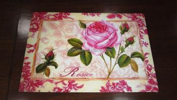 Teste Padrao De Flor Mesa De Desenho Mat Pp Ou Eva Individuais