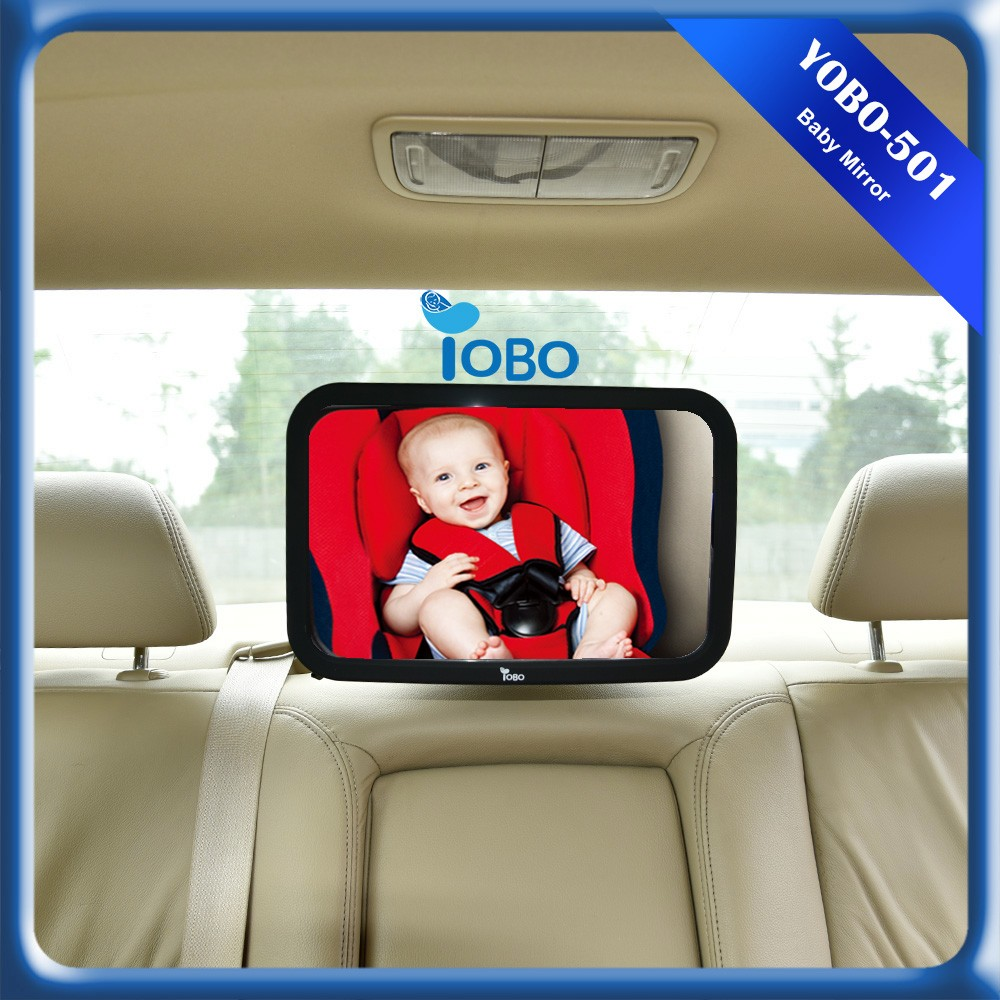 Newly Designed Rear Baby Car Mirror Shatterproof safely Baby Back backseat mirror for car