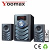 led light USB port top tech audio home theater sound system with am fm radio