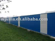 Activities fence with fast installation and low cost
