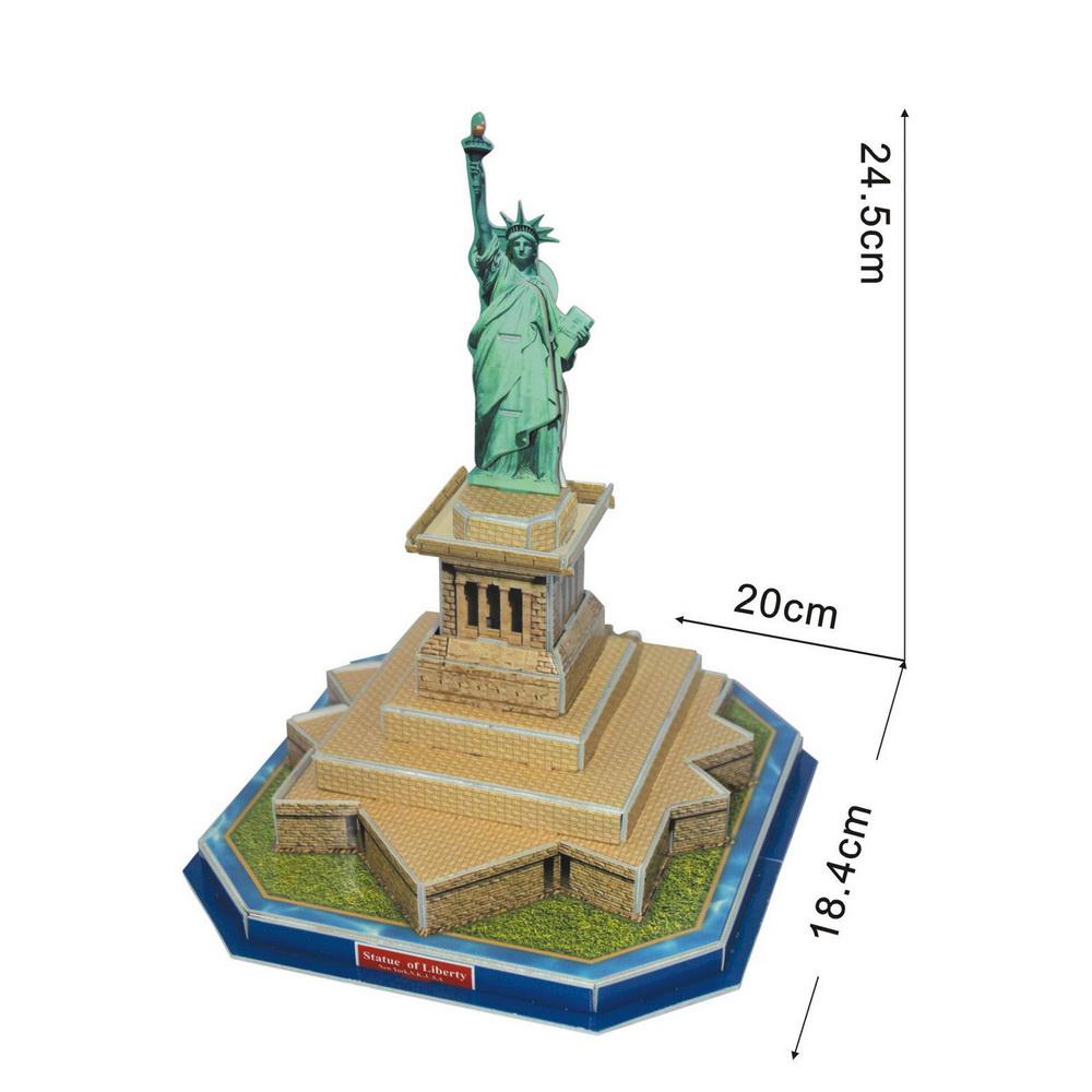 Satue della libert modelli di carta architettura for Programmi architettura 3d
