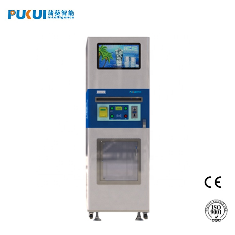 Home Appliances Commercial Self Services Ice Cube Vending Machine Ice Water Vendor Machine With Payment System