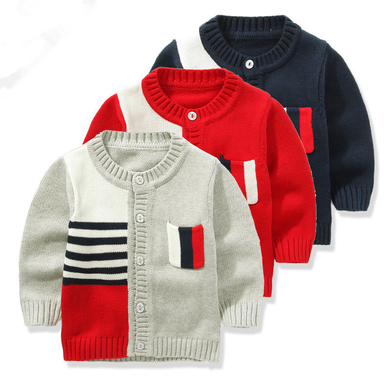 bab8daac3 Buy 2015 new autumn and winter fashion boys sweaters kids high ...