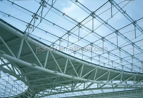 Aluminum Space Frame Glass Steel Dome Roof Buy Steel