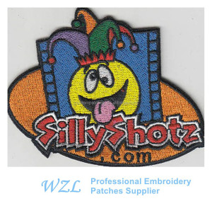 Custom patches for clothing iron on children in cheap price