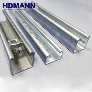 Best Easy Installation HDG Unistrut Channel Strut Channel Manufacturer
