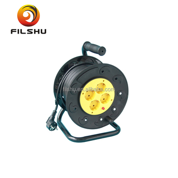 Retractable Extension Cord Reel >> Retractable Extension Cord Reel 4way Germany Socket With Cable And