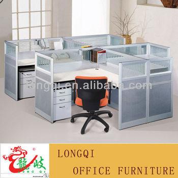 Modern Nice Design High Quality Glass Top Modular Office