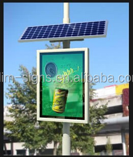 Solar Powered Led Advertising Sign Board Buy Led Outdoor