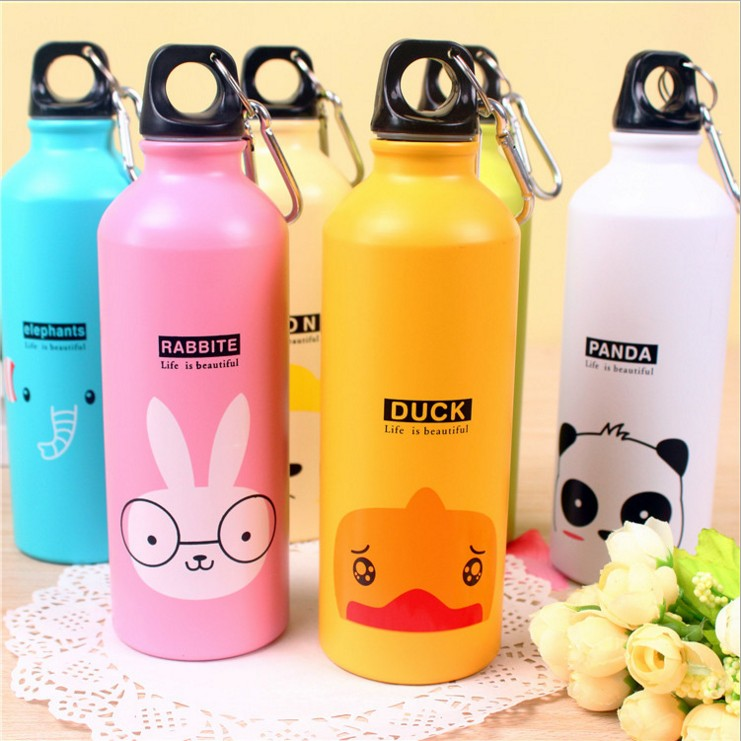 750 ML Custom Logo Factory Promotion Sublimation sport Drinking Stainless Steel Aluminum Water Bottle