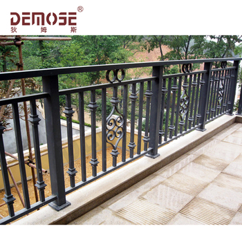 High Quality Wrought Iron Stair Railing Panels