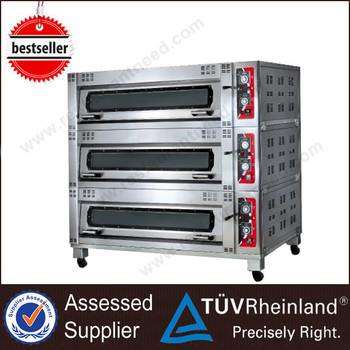 Ce Approved Stainless Steel K170 Freestanding Electric Small Bread Ovens