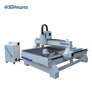 China Equipment 1325 3kw 4 axis 3D wood cnc router price with CE
