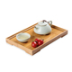 Hotel Restaurant Wooden Food Breakfast Vegetable Buffet Serving Tray Set