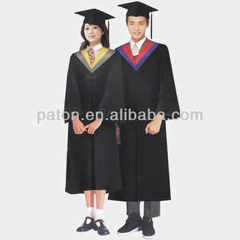Classic Graduation Gowns For University Students - Buy Graduation ...